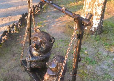 Скульптурная композиция «МедвЕжонок», аэропорт Чебоксары